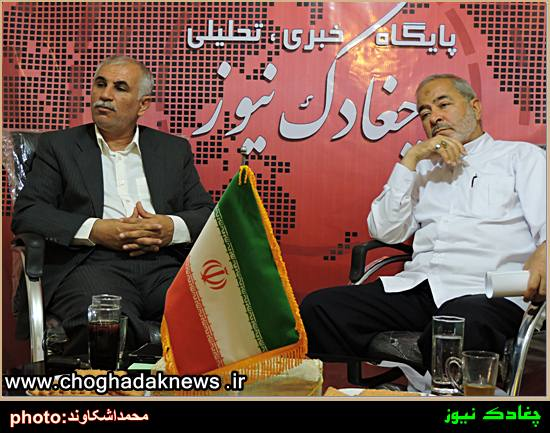مناظره دبیر تشکیلات خانه کارگر استان با دبیر حزب موتلفه استان بوشهر