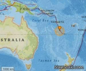 زلزله ۷ ریشتری و احتمال سونامی در شرق استرالیا