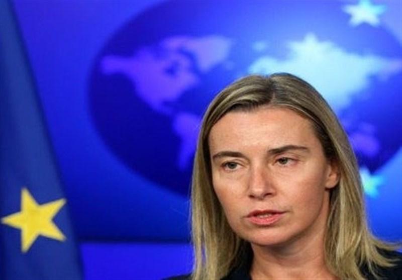 موگرینی: تحریمهای جدید علیه ایران فعلاً در دستور کار نیست