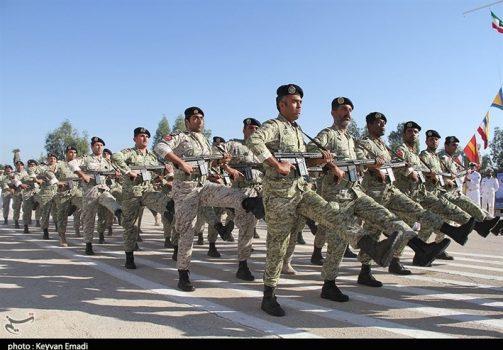 توان و اقتدار نیروهای مسلح استان بوشهر به نمایش درآمد+تصاویر