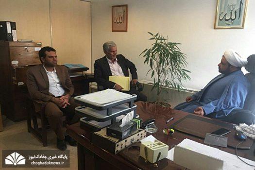 پیگیری مشکلات شهر چغادک در مجلس شورای اسلامی توسط دو عضو شورا+تصویر