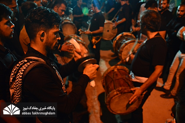 مراسم عزاداری سنتی بوشهری ها در شامگاه اربعین حسینی
