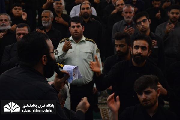 قرائت زیارت ازبعید و عزاداری ۲۸ صفر در شهر بوشهر
