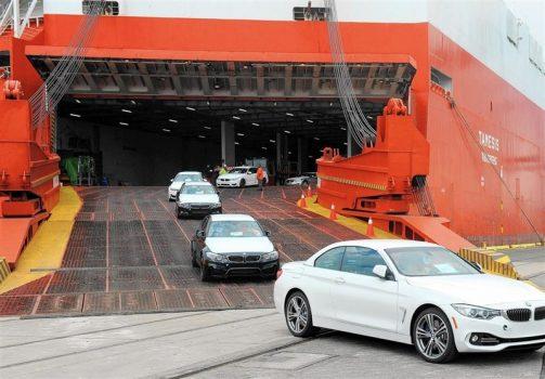 ۵۲ هزار خودرو خارجی در ۸ ماه وارد کشور شد + جدول