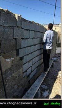 بازسازی و ساخت منازل محرومان چغادک توسط گروه جهادی شهید حججی+تصویر