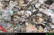 مشکلات شهروندان و دفع ناصحیح زباله در شهر چغادک+تصویر