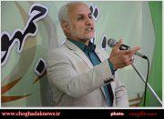 تصاویر دیدار و سخنرانی حسن عباسی با اعضای مجمع پیروان ولایت فقیه استان بوشهر