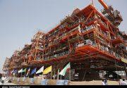 ۲ سکوی گازی ۲۵۰۰ تنی فاز ۱۳ پارس جنوبی از صدرای بوشهر بارگیری شد