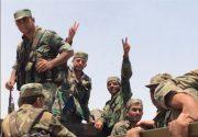 ارتش سوریه مانع از عبور کاروان آمریکایی در حومه «تل تمر» شد/ عقبنشینی تروریستها از «سراقب»