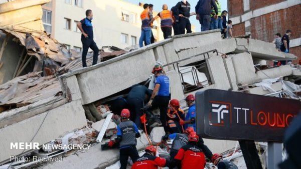 وقوع پس لرزه ۵ ریشتری در مناطق زلزله زده ترکیه