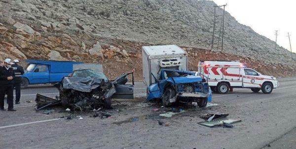 تصادف مرگبار در جاده روانسر ۶ کشته و زخمی بر جای گذاشت