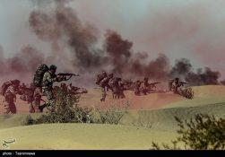 دومین روز رزمایش نیروی زمینی ارتش