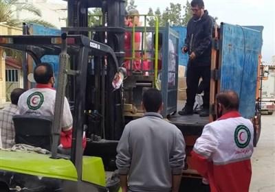 """۳محموله کمکهای استان بوشهر برای زلزلهزدگان """"سیسخت"""" ارسال شد"""
