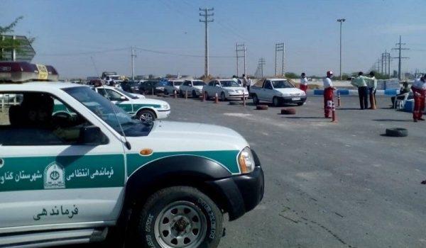 فرماندارگناوه: ورودی ضلع شمالی این شهرستان مسدود شد