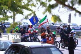 راهپیمایی ۲۲ بهمن در بوشهر
