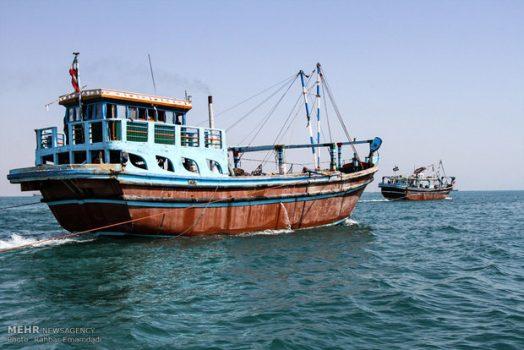 ۵ شناور صیادی در خلیجفارس توقیف شد