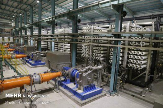 ظرفیت شیرینسازی آب در استان بوشهر ۱۵۰ هزار متر مکعب میرسد
