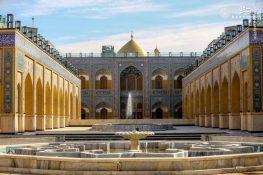 تصاویر جدید از صحن حضرت زهرا(س) در نجف اشرف