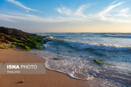 ساحل زیبا و بکر «بنود» عسلویه