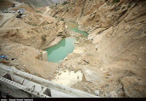 """۱۱میلیارد تومان برای ساخت سد """"اخند"""" استان بوشهر پرداخت شد + تصاویر"""