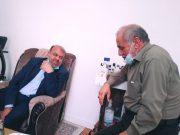عیادت معاون سپاه قدس از همرزمش در بوشهر