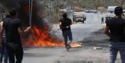تداوم خشم شبانه فلسطینیان در جنوب نابلس و زخمی شدن ۵۳ نفر