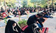 عزاداری دهه اول محرم در گلزار شهدای بهشت زهرای تهران